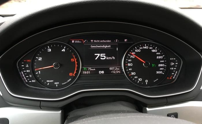 Audi A4 Display: Weil wir es immer so gemachthaben